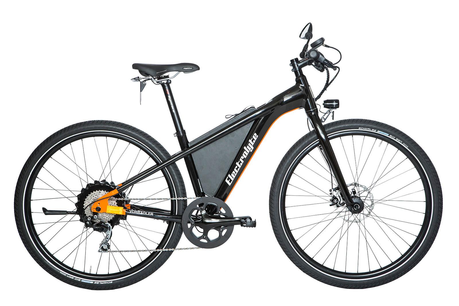 sale vorradler s3e classic 45 s pedelec mit 45 km h testrad schwarz orange ohne city kit. Black Bedroom Furniture Sets. Home Design Ideas