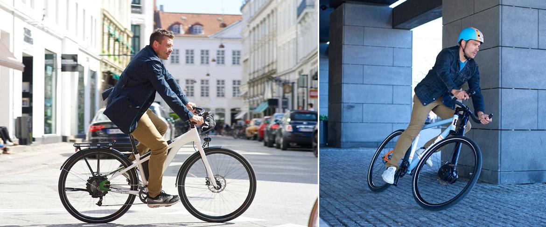 Electrolyte Bikes in Fahrt