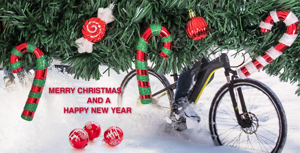 Electrolyte wünscht Frohe Weihnachten.