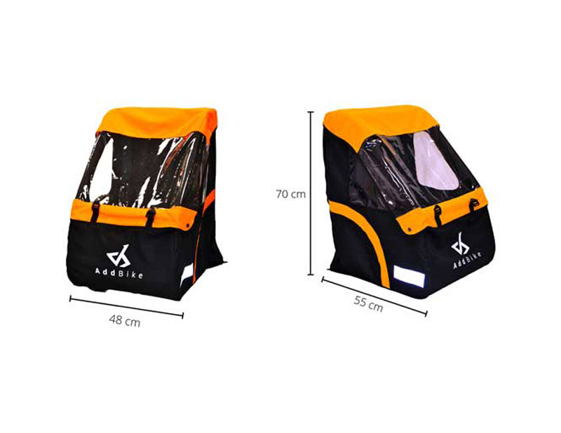 Sicherheitszelle für den Transport von Kindern