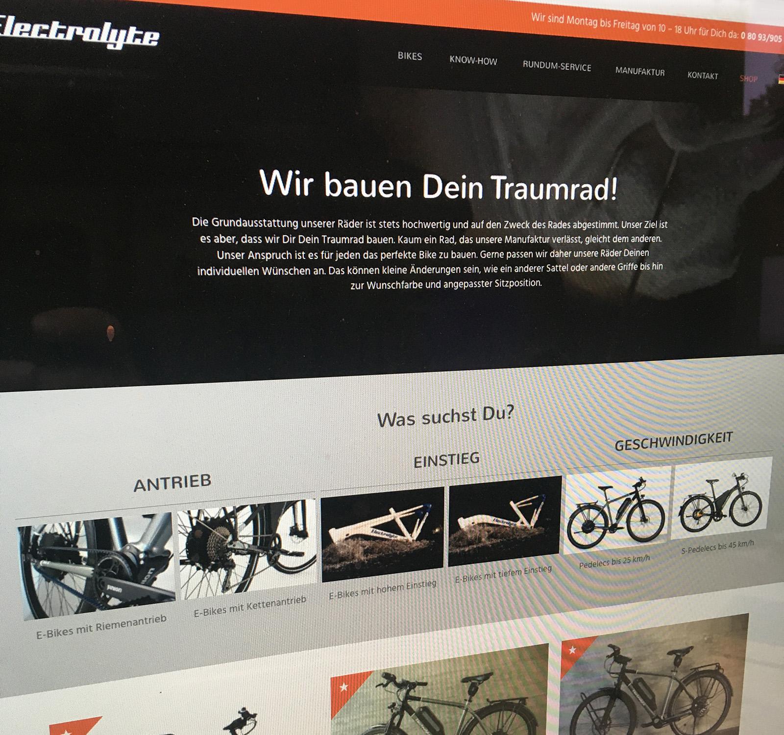Electrolyte Online-Shop